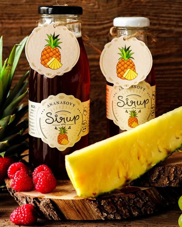 Ananasový sirup