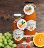 pomerančový sirup bez pridaneho cukru pro deti i do restauraci a kavaren na domaci limonady-2