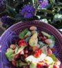 recept na zdravy avokadovy salat