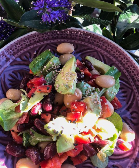Avokádový salát