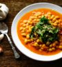 vegetariansky recept cizrna na kari