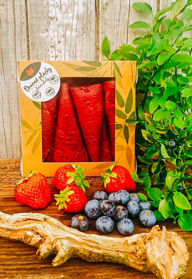 Lesní plody ovocná placka