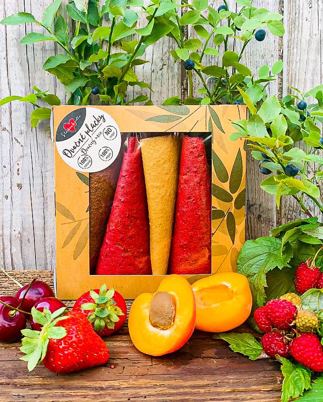 Ovocný mix placka